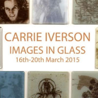 "Carrie Iverson ""Images In Glass Workshop"" March 2105"