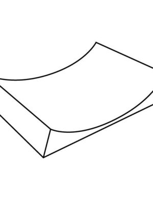 Simple Curve, 16.5 in (419 mm), Slumping Mould
