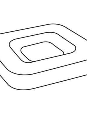 Small Dish, 8.75 in (222 mm), Slumping Mould