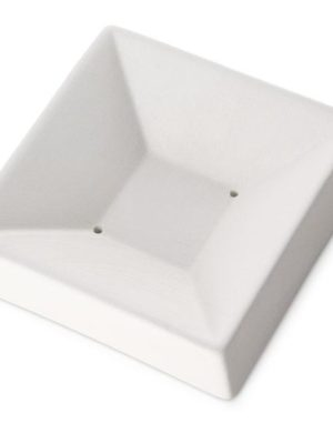 One-Square Dish, 3.75 x 3.75 x 1 in (95 x 95 x 25 mm), Slumping Mould
