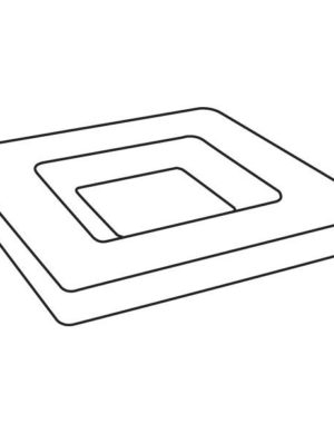 Soft Edged Platter, 9.5 in (241 mm), Slumping Mould