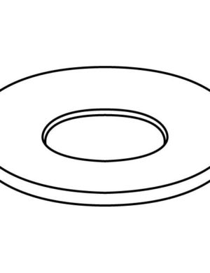 Drop Out Ring, 10.75 in (273 mm), Slumping Mould