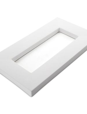 Rectangular Drop Out, 16.125 x 9.25 in (410 x 235 mm), Slumping Mould