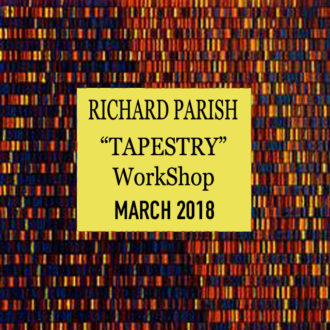 Richard Parrish – Tapestry: Inspiration, pattern, colour and technique in kiln glass
