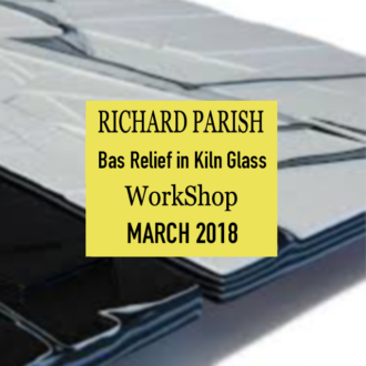 Richard Parrish – Bas Relief in Kiln Glass